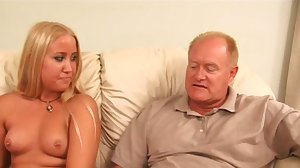 Blond pleasures two old farts